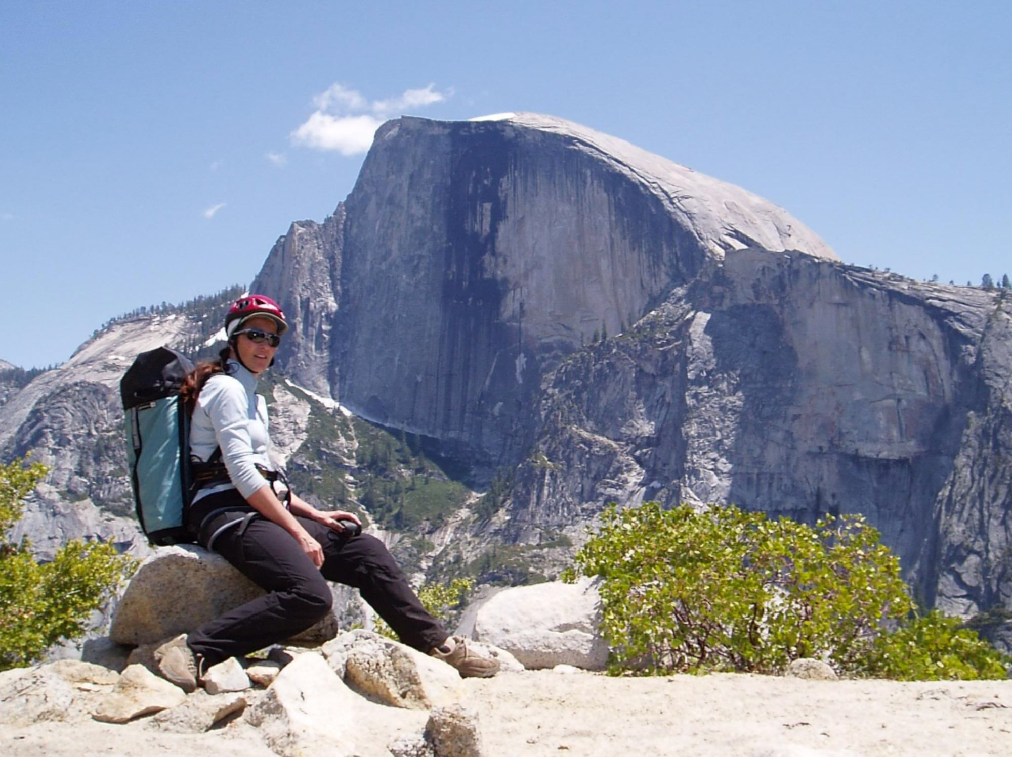 Cathy in Yosemite