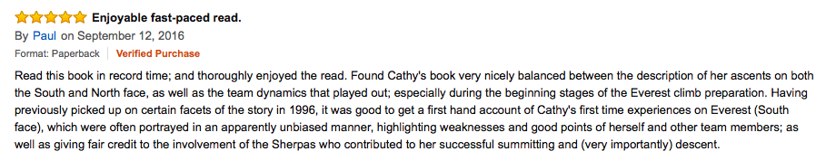 Review of Just For The Love Of It, by Cathy O'Dowd