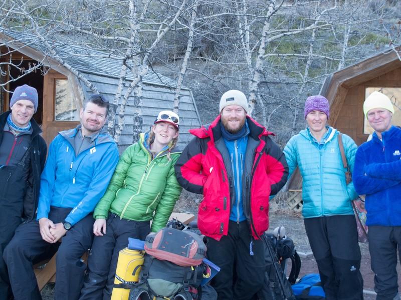 Mount Logan ESC team