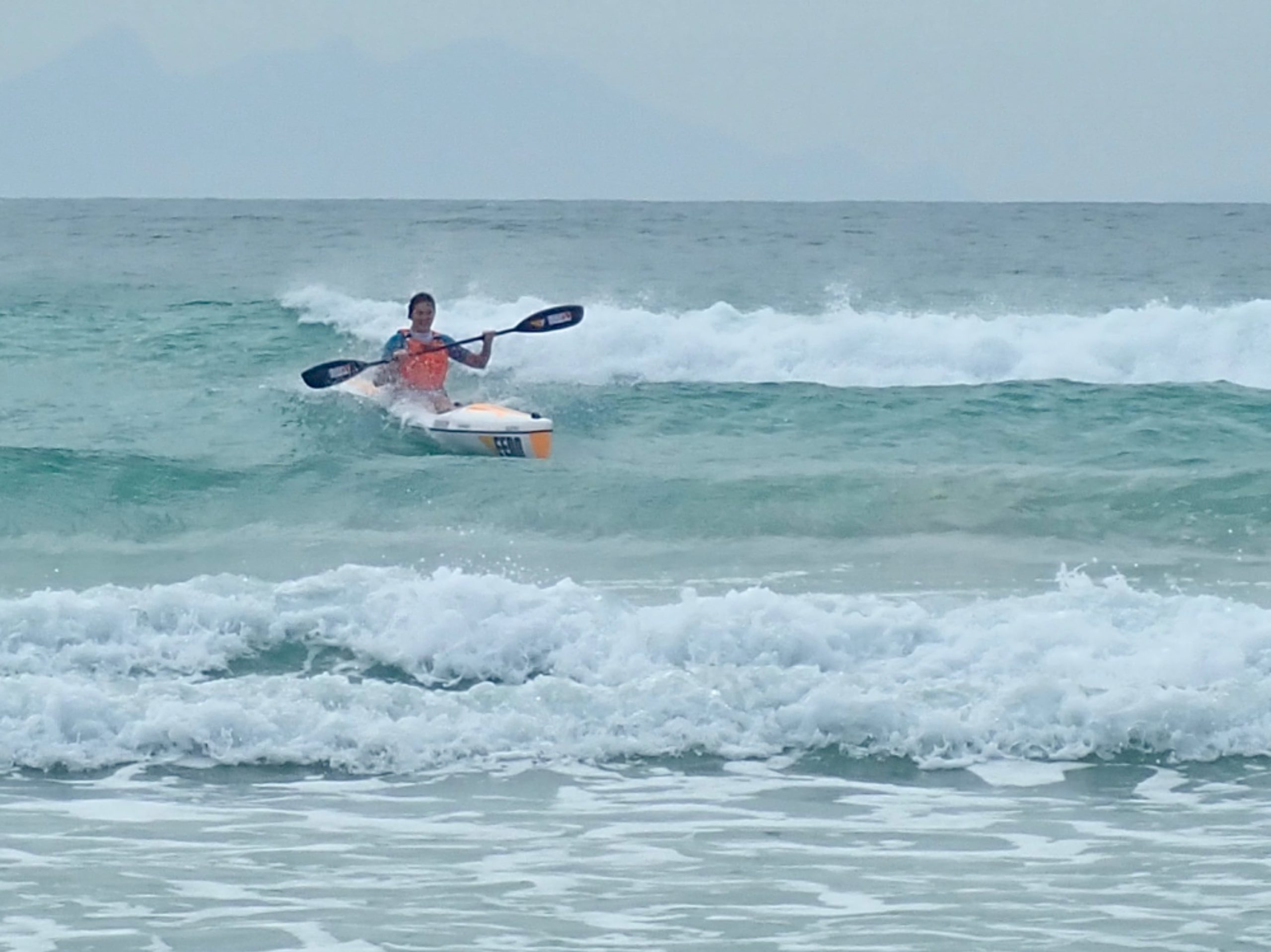 Surf ski in South Africa