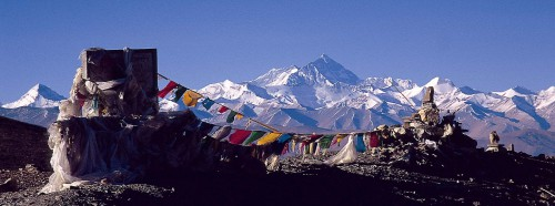 Everest north face from PangLa pass