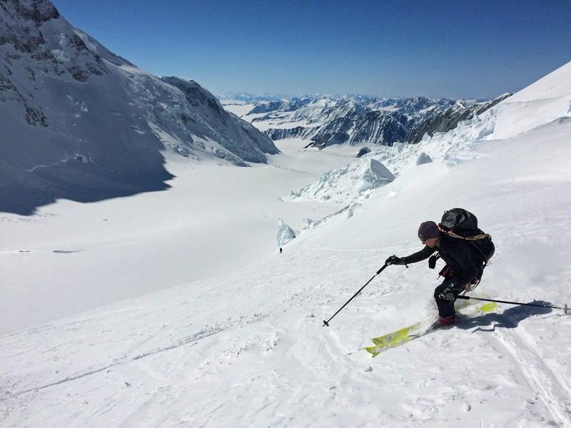 Mount Logan skiing