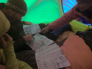 Mount Logan route planning