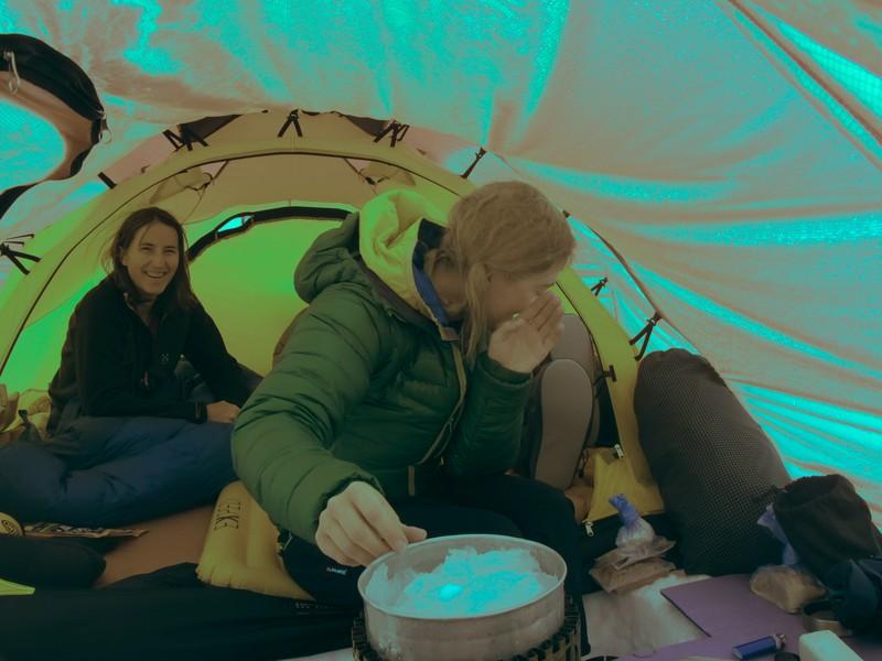 Mount Logan tent living