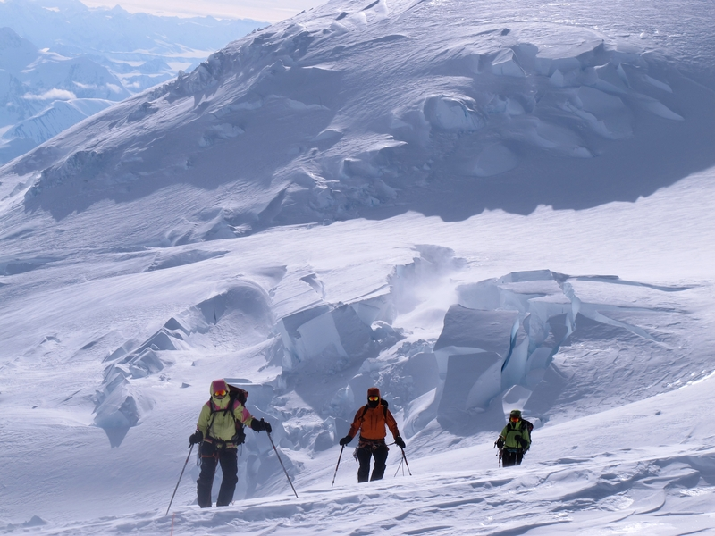 Mount Logan summit day