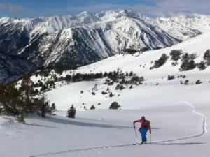 Ski touring in Andorra