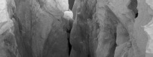 Crevasse background