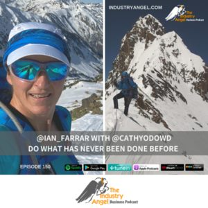 Cathy O'Dowd was interviewed by Ian Farrar for his Industry Angel podcast