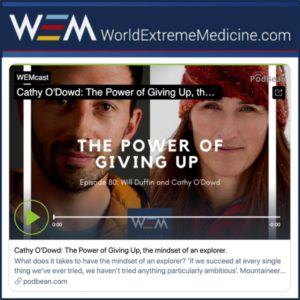 WEMCast: The Power of Giving Up, the mindset of an explorer