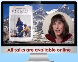 Cathy O'Dowd presenting a webinar