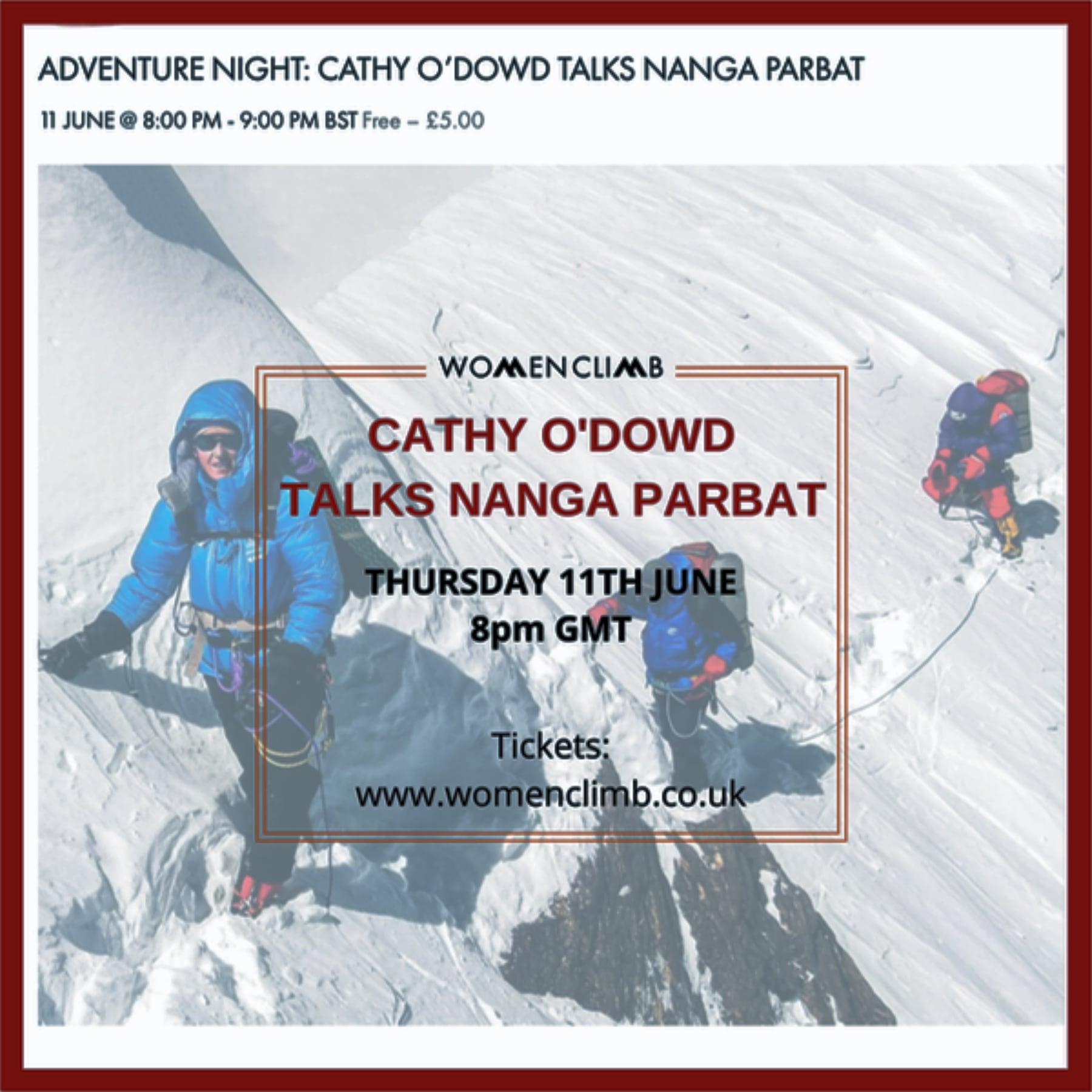 A presentation for Women Climb UK