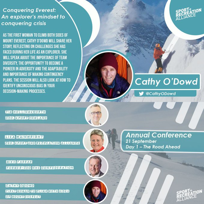 Sport+Recreation Alliance Annual Conference 2020, 21 September