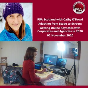 PSA Scotland November 2020: Adapting from Stage to Screen