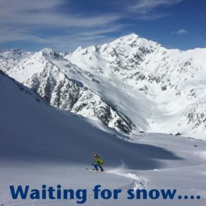 Waiting for snow...
