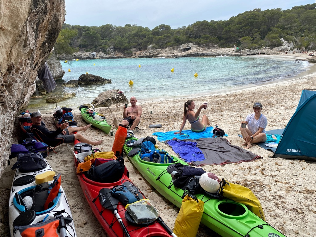 5th night happy to have reached shelter