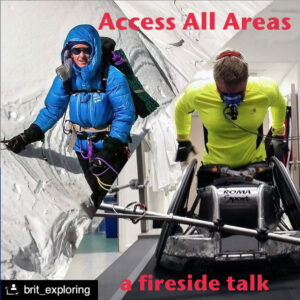 Access All Areas - A Fireside Talk with Cathy O'Dowd and Aaron Phipps by British Exploring Society