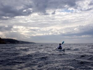 Day 5 still tricky conditions at sea
